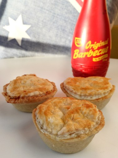 Party Pies with Original Barbecue Sauce