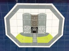 Highbury & Islington tiles by Edward Bawden