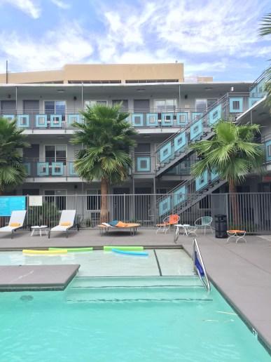 Swimming pool at Oasis at Gold Spike, Las Vegas