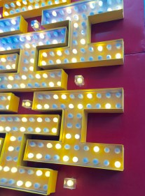 H is for Hurrah's at the Neon Boneyard Neon Museum Las Vegas