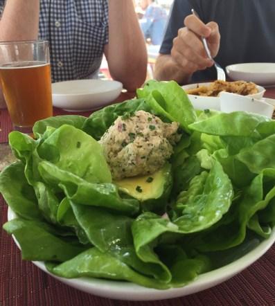Crab & Avocado Salad at Perch, Las Vegas