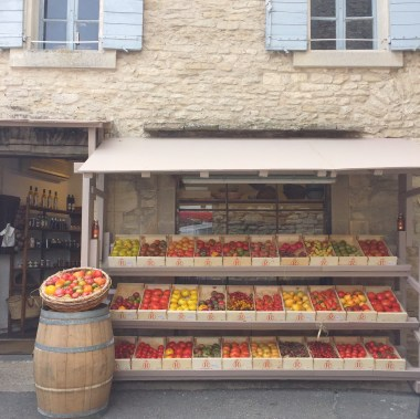 An amazing selection of tomatoes for sale, Gordes
