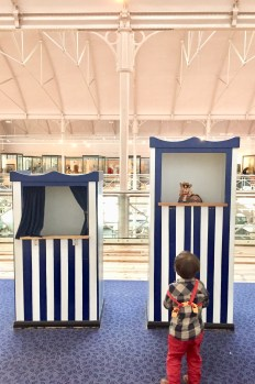 Punch and Judy Puppet Show, Museum of Childhood, Toddler, Days out with kids, interactive fun