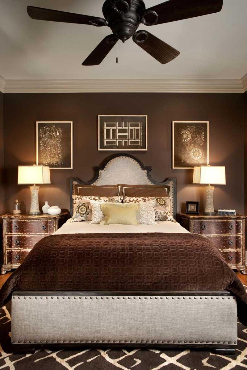 Chocolate Brown Bedroom
