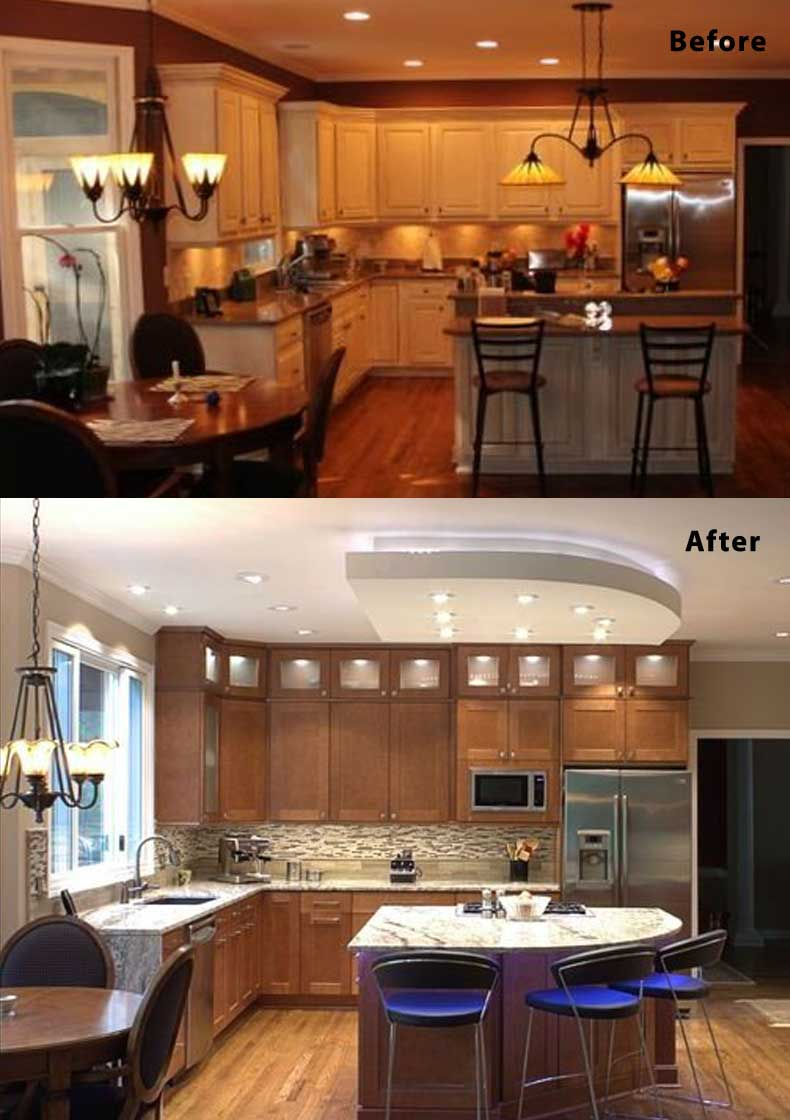 Kitchen remodel ideas before and after 13