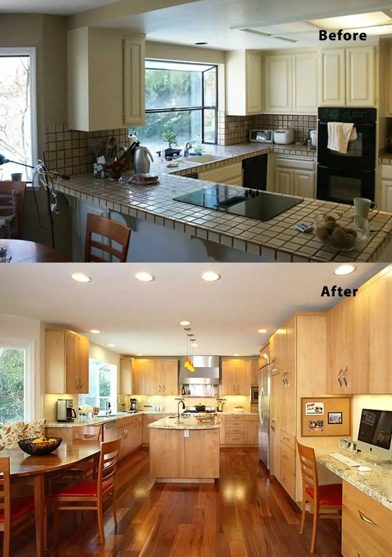 Kitchen remodel ideas before and after 26