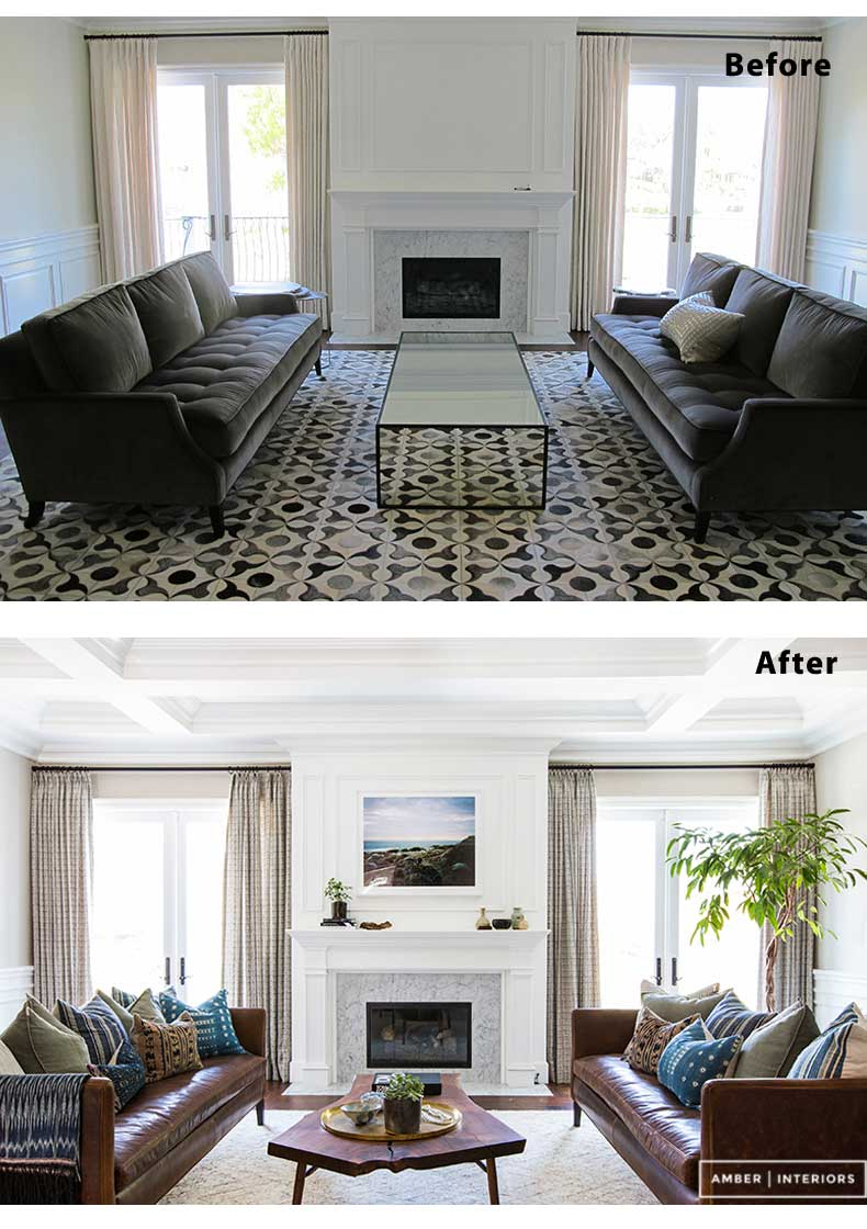 55 Living Room Design, Decor and Remodel Ideas (Before & After)