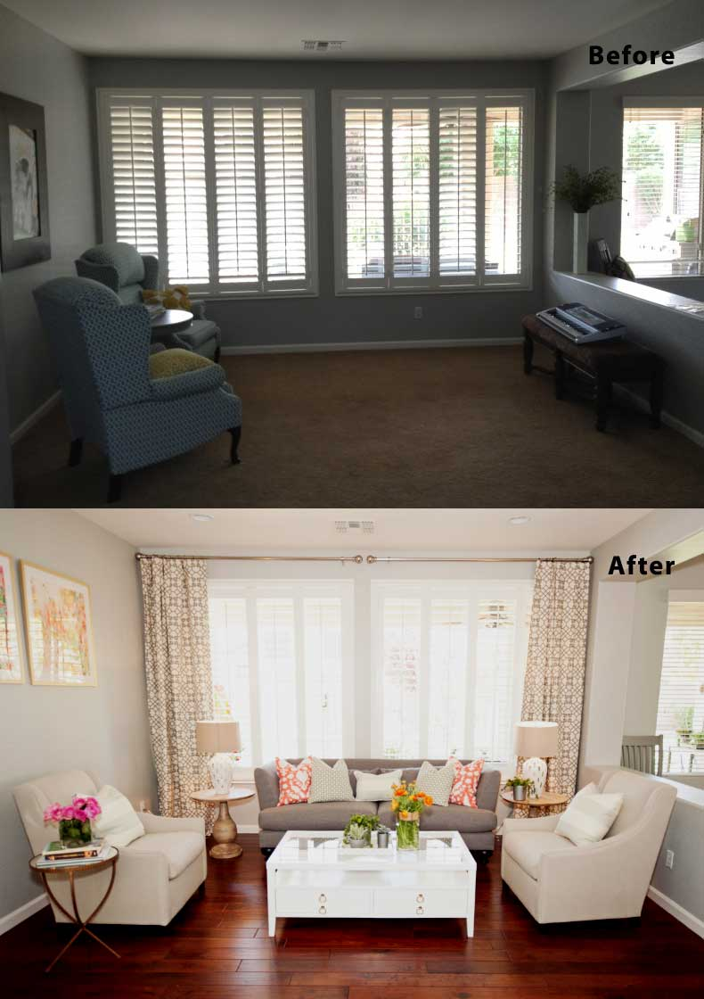 Living Room Remodels Before and After 09