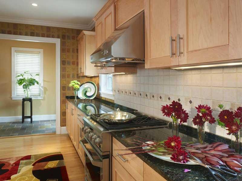 Black Granite Kitchen Countertop