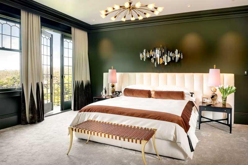 Hunter Green Bedroom