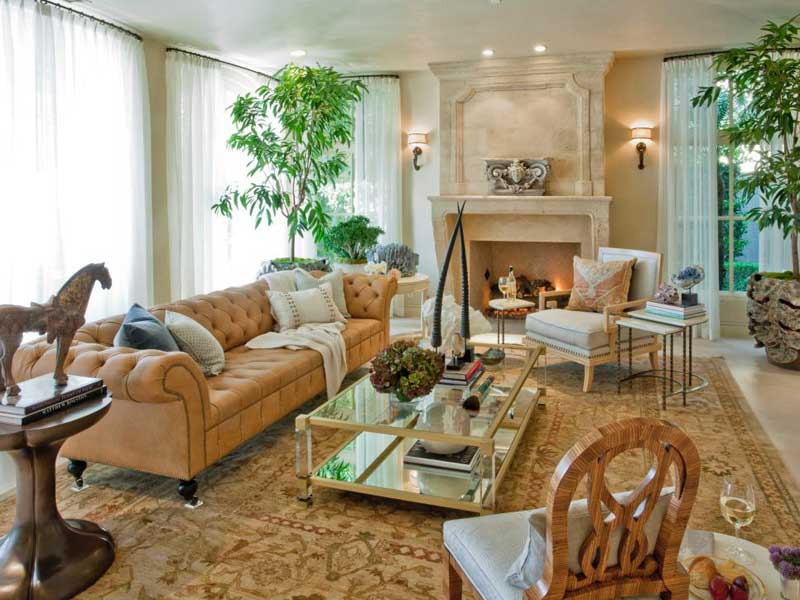 Living Room With Neutral Color Palette