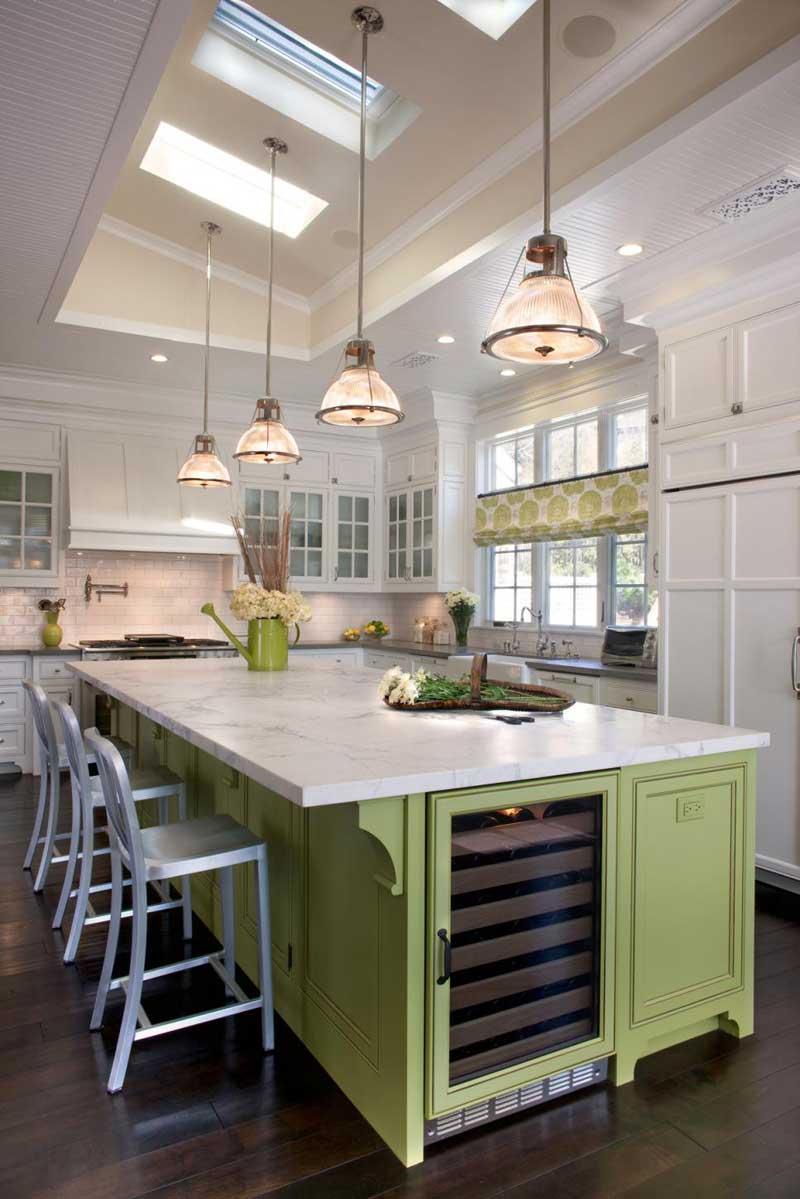 Kitchen Island Green 50 gorgeous kitchen island design ideas - homeluf