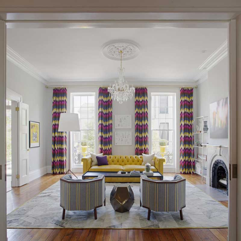 Living Room Color Ideas For Your Personal Style - Gray white and yellow living rooms