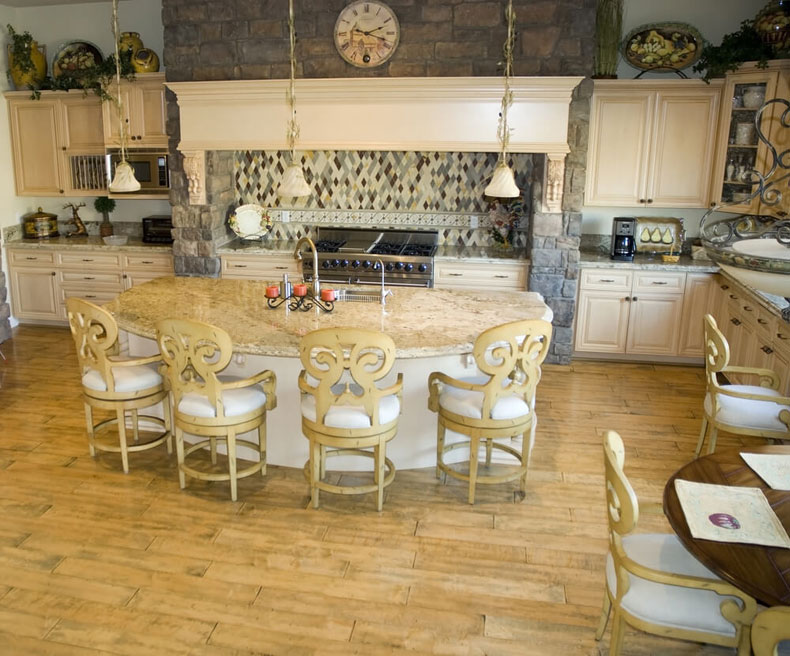 rounded-kitchen-island-with-seating