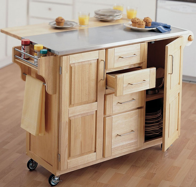 cart-style-kitchen-island