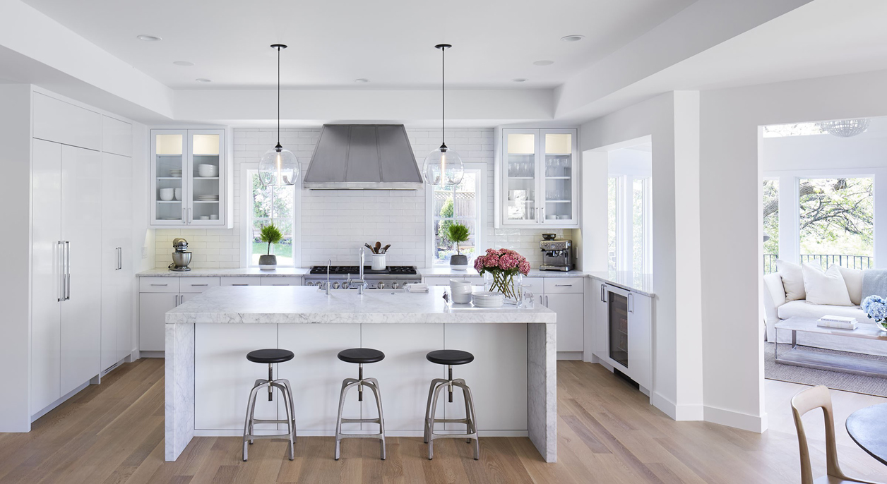 White Kitchen Cabinets With Light Wood Floors   Novocom.top
