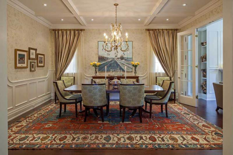 formal dining room with crystal candle chandelier non electric