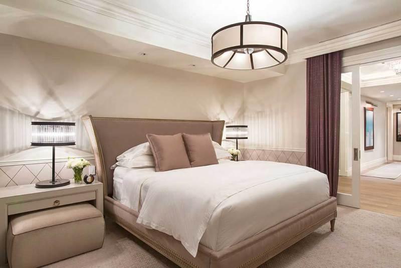 white bedroom lighting ideas
