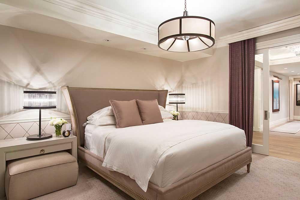 White Bedroom Lighting Ideas