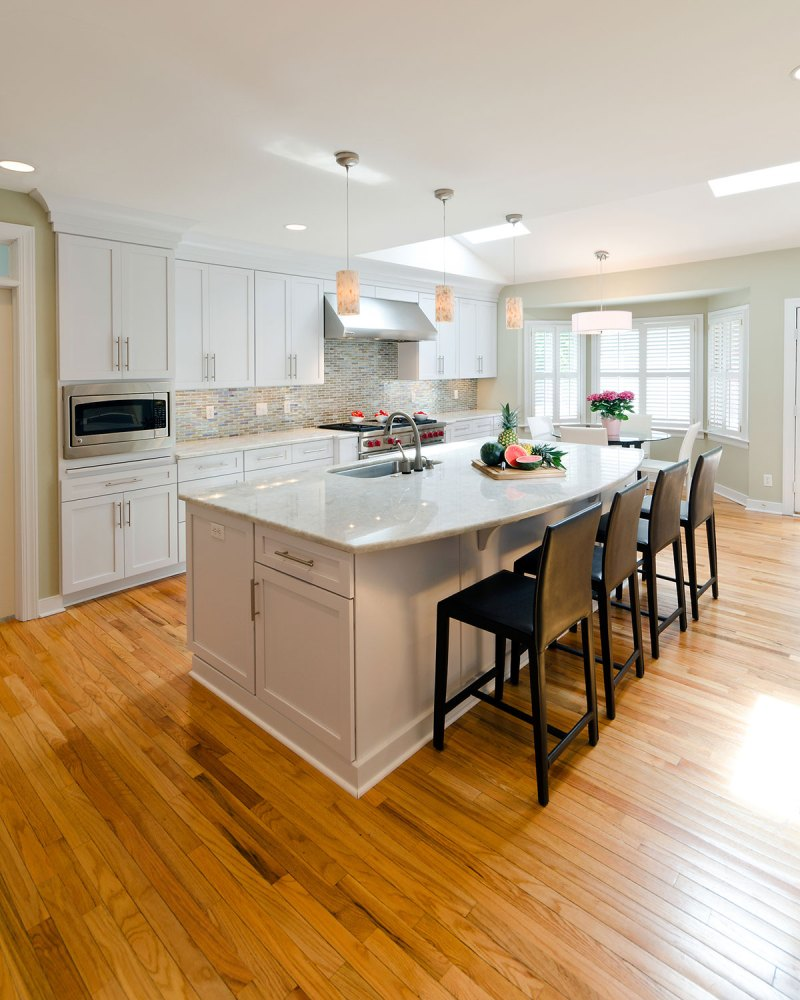 Countertops For White Kitchen Cabinets: Top 25 Best White Granite Colors For Kitchen Countertops