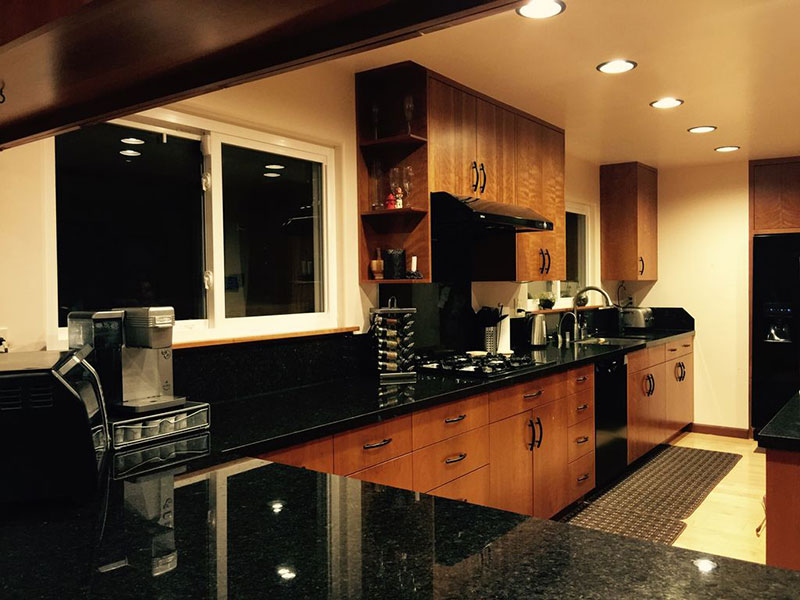 Black Granite Countertops : Best black granite countertops pictures cost pros cons