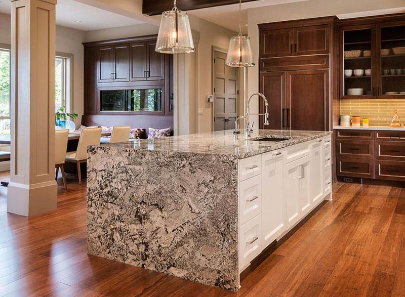 Bianco antico granite countertops design ideas