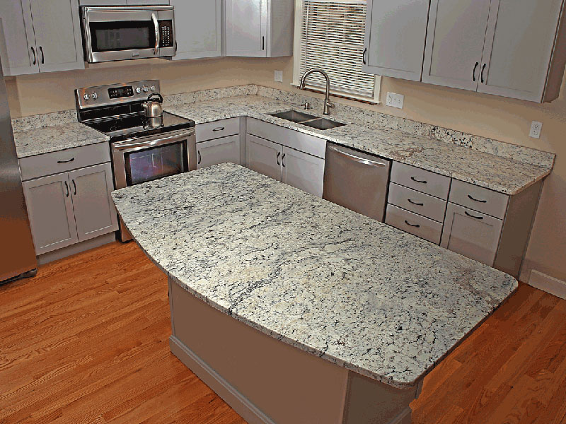 Can You Paint Countertops Formica White Ice Granite Countertops (pictures, Cost, Pros And Cons)