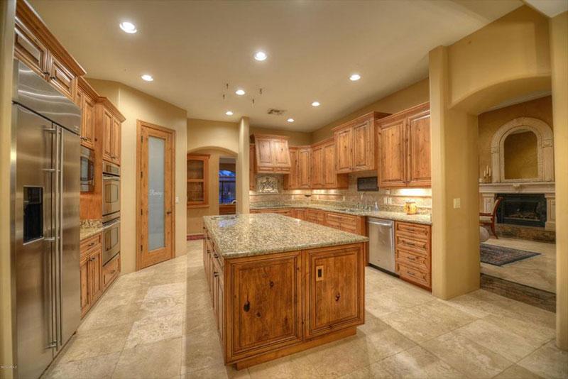 blue pearl granite kitchen prep sink new venetian gold countertops - elegance