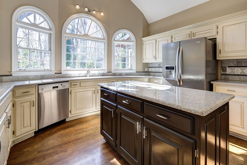 Giallo ornamental granite countertops design ideas
