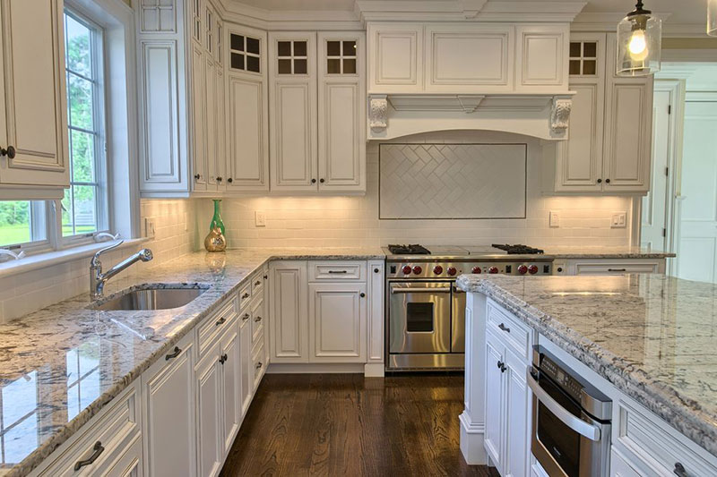 Kitchen Countertops Granite alaska white granite countertops (design, cost, pros and cons)