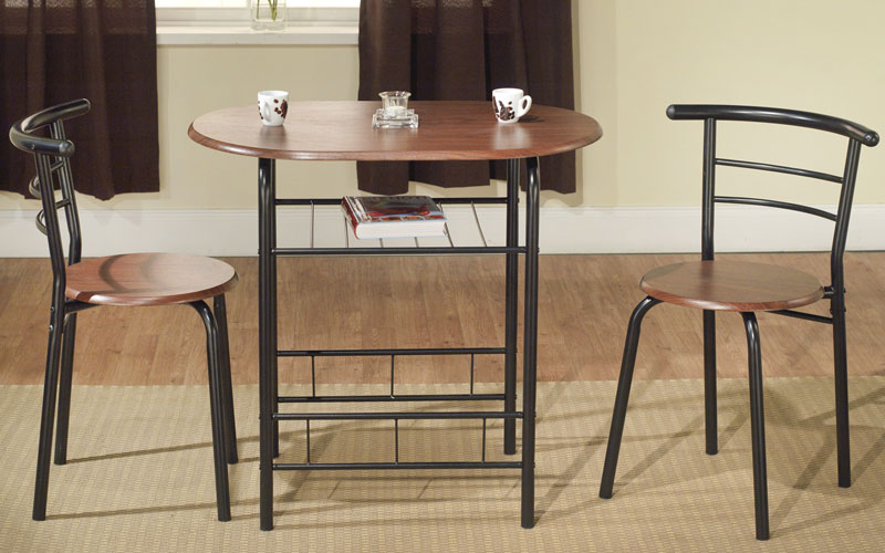 3 Piece Compact Dining Set