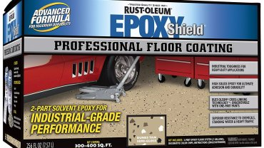 Rustoleum Epoxy Garage Floor Coating Review