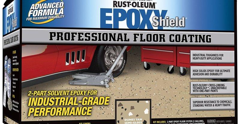 Rustoleum Epoxy Garage Floor Coating Review