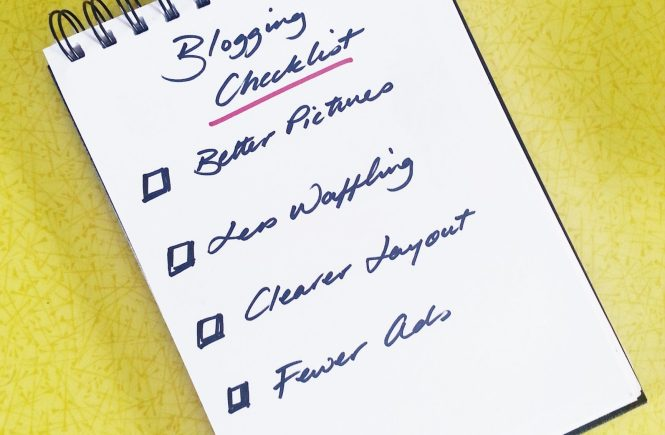 Blogging Checklist for making more money by blogging - Homely Economics