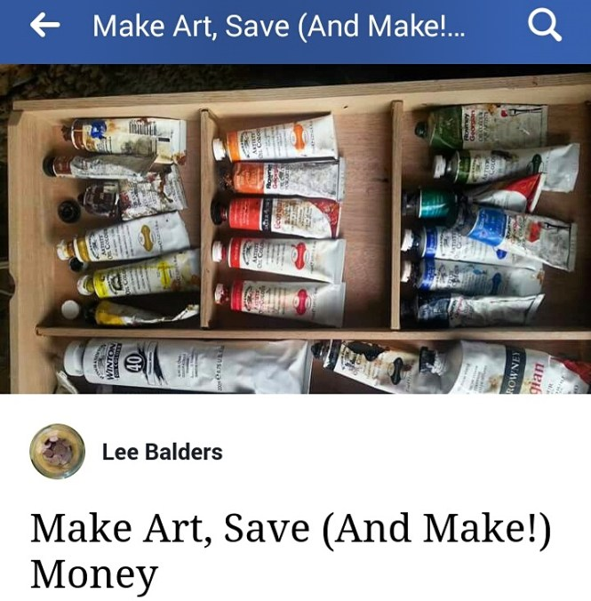 Art and money Facebook group