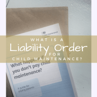 What Is A Liability Order For Child Maintenance?