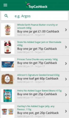 Top Cashback supermarket cashback reviewed by Homely Economics.