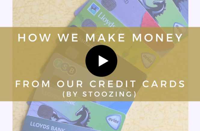 Watch this video to see how we make money from our credit cards by stoozing.