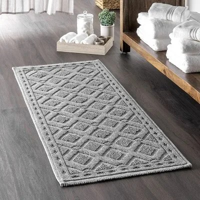 bathroom rugs guide placement