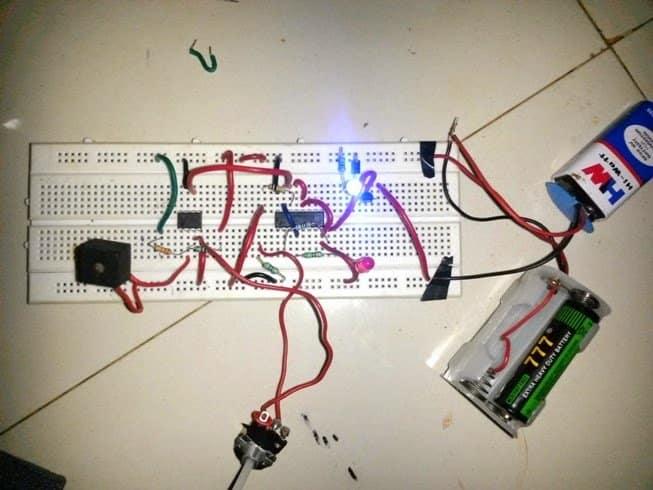 Clap Switch Circuit Diagram Using Transistor Clap Switch Circuit
