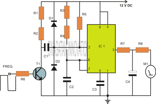 small resolution of ic 555 based capacitance meter circuit homemade circuit projects solar power circuit diagram as well capacitance meter circuit diagram