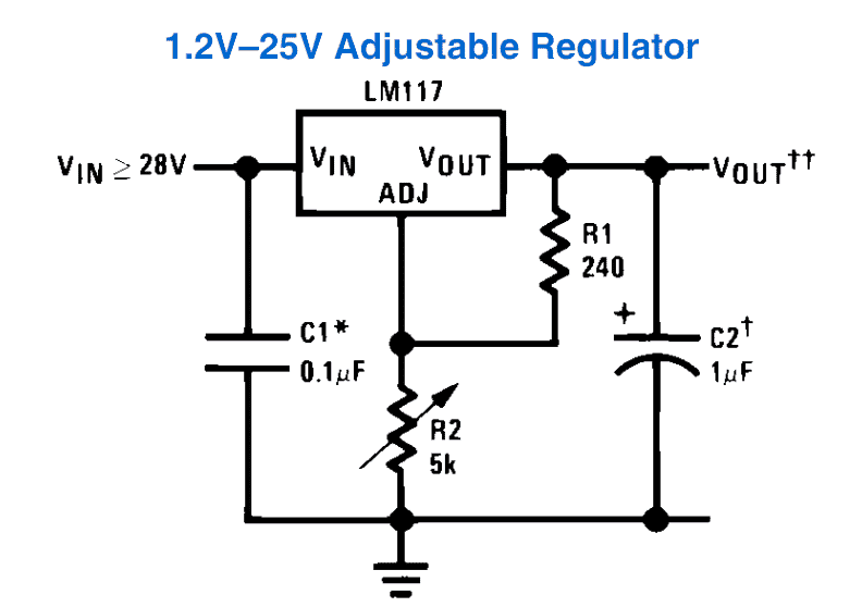 How to Use LM317 for Making a Variable Power Supply