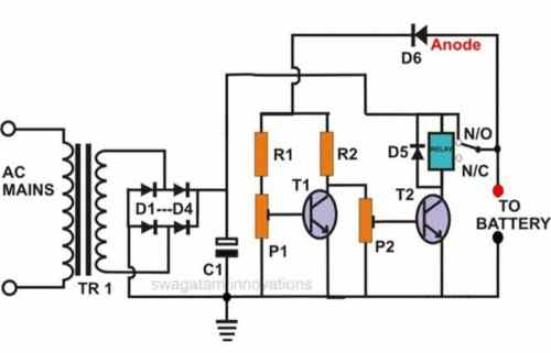 small resolution of self adjusting battery charger circuit