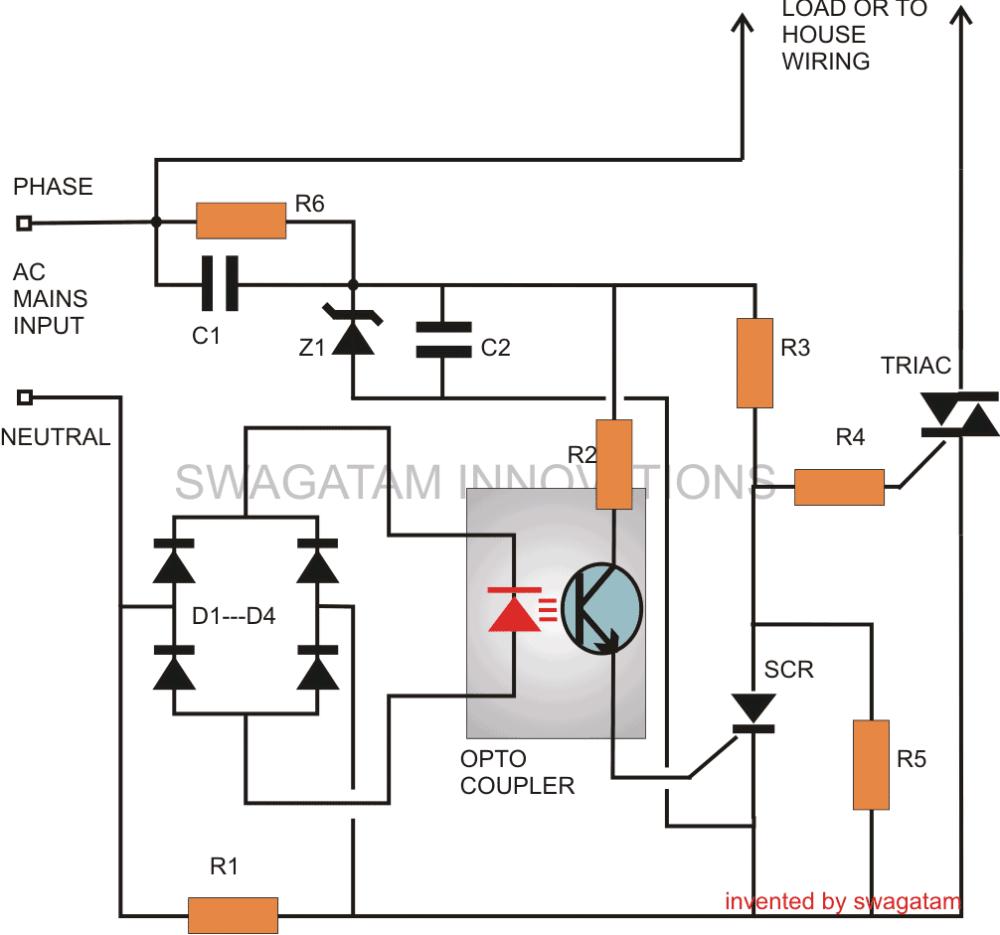 medium resolution of electronic mains ac short circuit breaker protector