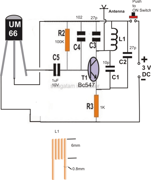 small resolution of remote control circuit using fm radio homemade circuit projects radio remote control receiver circuit diagram remotecontrolcircuit