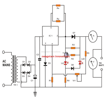 Constant Current Charger for Lead Acid Battery