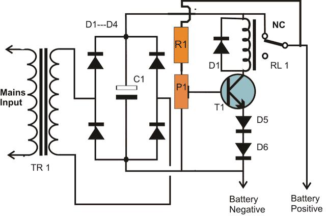 spdt relay transistor