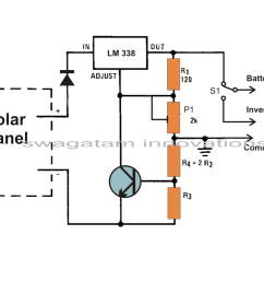 circuit diagram solar panel voltage regulator [ 1033 x 810 Pixel ]