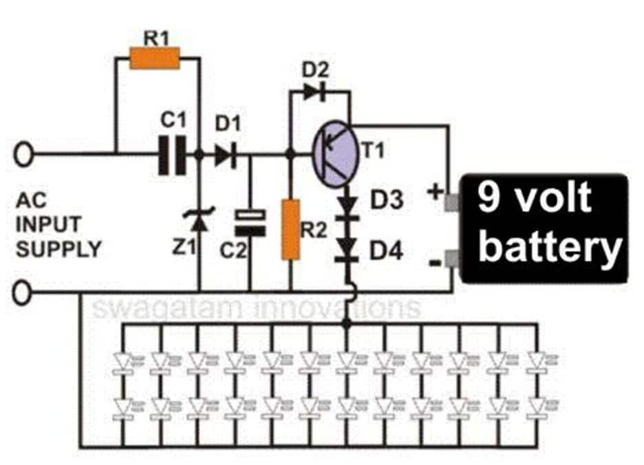 Led Emergency Flasher Wiring Schematic Diagrams