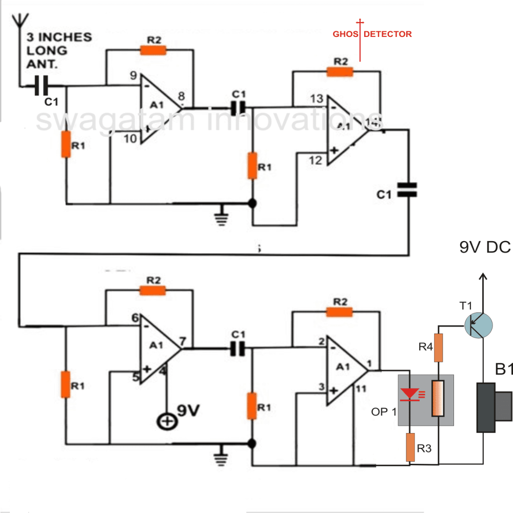 medium resolution of accurate ghost detector circuit
